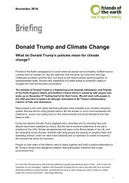 Donald Trump and Climate Change