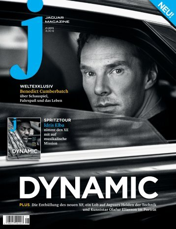 Jaguar Magazine DYNAMIC – German Retail