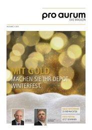 pro aurum Magazin - 3/2016