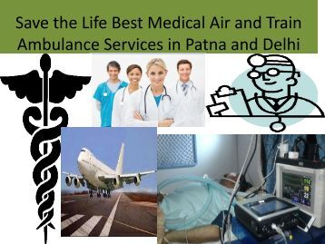 Advance Life Support With Icu Air Ambulance Services From