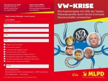 VW-Krise