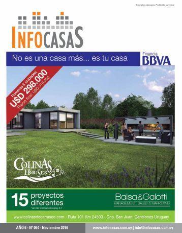 Revista InfoCasas - Noviembre 2016