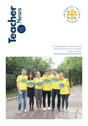 Teachers Newsletter Autumn 2016 booklet