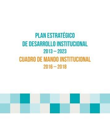 Plan Estrategico de Desarrollo Institucional