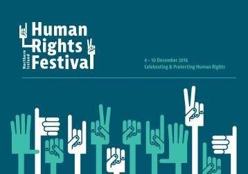 4 – 10 December 2016 Celebrating & Protecting Human Rights