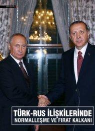 TÜRK-RUS İLİŞKİLERİNDE