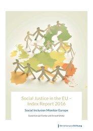Social Justice in the EU – Index Report 2016
