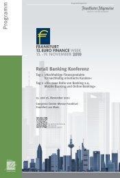 Retail Banking Konferenz - Maleki Conferences GmbH