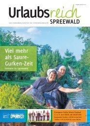Verkaufsunterlage Urlaubsreich Spreewald