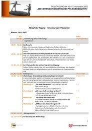 Programm Fachtagung - IPP - Universität Bremen