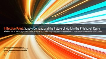 Inflection Point Supply Demand and the Future of Work in the Pittsburgh Region