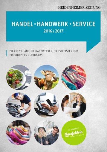 Handel, Handwerk, Service 16-17