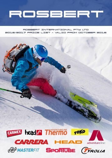 Snow Sports Catalogue 2017_examples