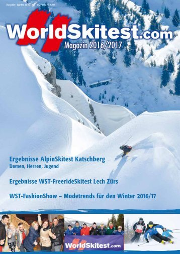 WorldSkitest Magazin 2016/17