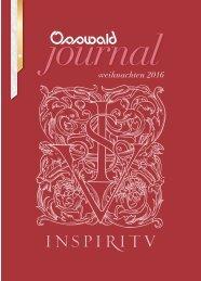Osswald Journal Weihnachten 2016