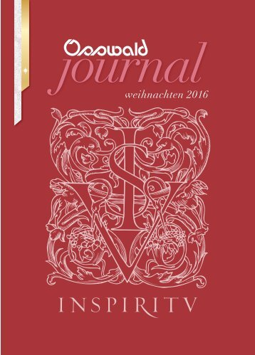 Osswald Journal Weihnachten 2016