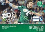 GRÜNWEISS – das Magazin der DHfK-Handballer – Heft 07 – Saison 2016/17