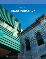American University 2015-2016 Annual Report