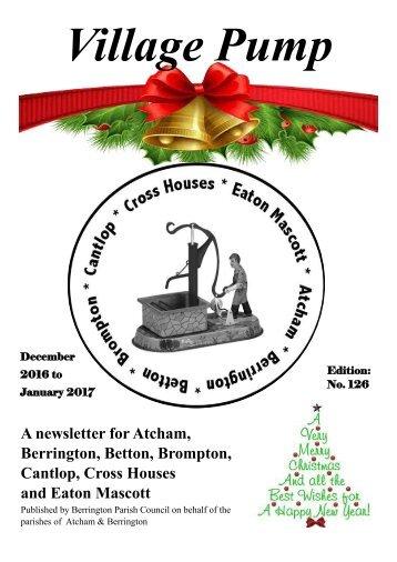 Berrington Village Pump Edition 126 (Dec 16 - Jan 17) Final Copy