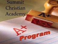 Summit Christian Academy!