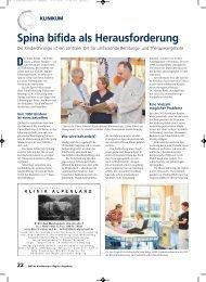 Spina bifida als Herausforderung - am Klinikum Augsburg