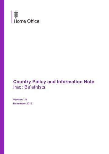 Iraq Ba'athists