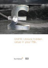 GNFR Unlock hidden value in your P&L