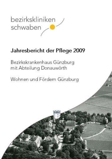 Jahresbericht 2009 - Bezirkskrankenhaus Günzburg