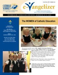 The WOMEN of Catholic Education