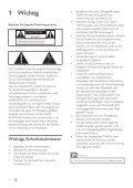 Philips station d'accueil - Mode d'emploi - DEU - Page 3