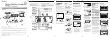 Sony TA-VE800G - TA-VE800G Istruzioni per l'uso Svedese