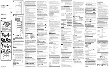 Sony AC-VQ1051D - AC-VQ1051D Istruzioni per l'uso Portoghese
