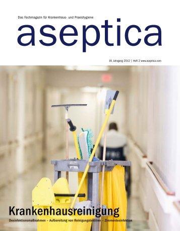 Krankenhausreinigung - aseptica