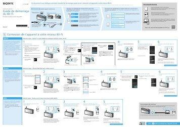 Sony SRS-X77 - SRS-X77 Istruzioni per l'uso Francese
