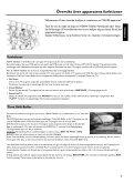 Philips Lecteur/enregistreur de DVD disque dur - Mode d'emploi - SWE - Page 5