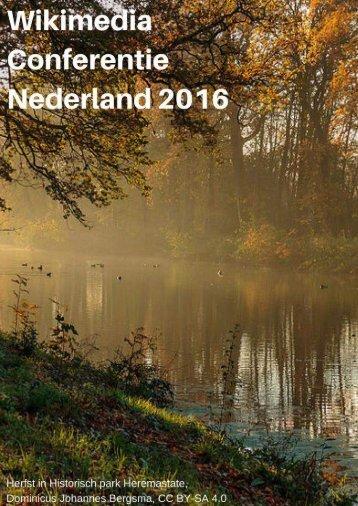 De Wikimedia Conferentie Nederland 2016