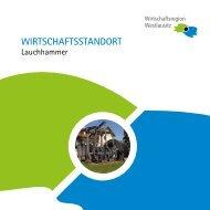 WIRTSCHAFTSSTANDORT - Stadt Lauchhammer