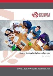 Máster en Marketing Digital y Comercio Electrónico
