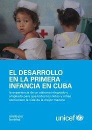 EL DESARROLLO EN LA PRIMERA INFANCIA EN CUBA