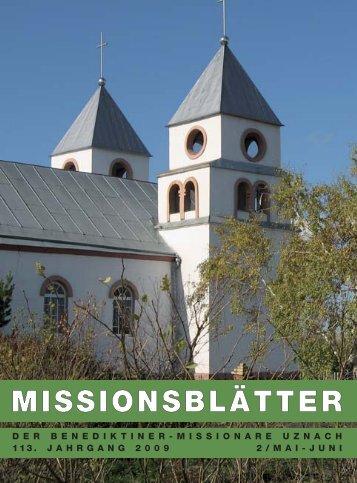 MISSIONSBLÄTTER - Abtei St. Otmarsberg Uznach