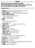 Philips Radio-réveil - Mode d'emploi - DAN - Page 3
