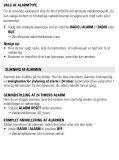 Philips Radio-réveil - Mode d'emploi - DAN - Page 6