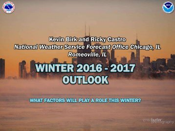 National Weather Service Forecast Office Chicago IL Romeoville IL