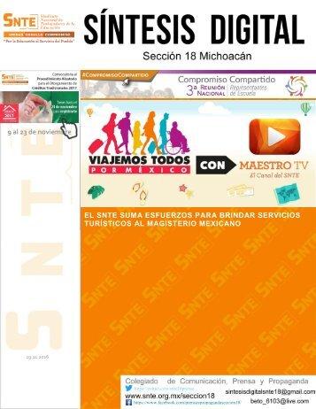 EL SNTE SUMA ESFUERZOS PARA BRINDAR SERVICIOS TURÍSTICOS AL MAGISTERIO MEXICANO