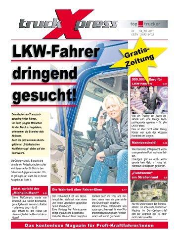 LKW-Fahrer dringend gesucht! - truck-Xpress