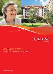 pdf Residenzbroschüre Fürth - Kursana