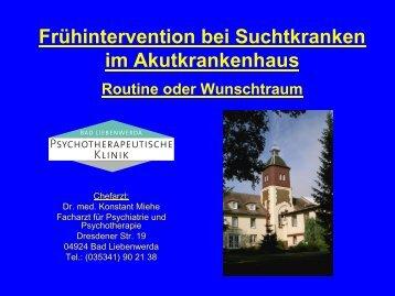 Dr. K. Miehe