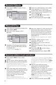 Philips Téléviseur - Mode d'emploi - FIN - Page 7