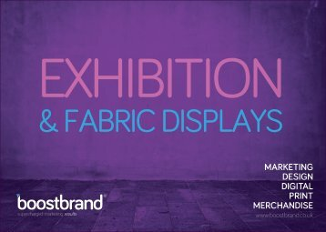 Exhibitions & Fabric Displays Brochure RRP