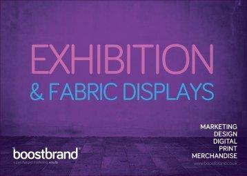 Exhibitions & Fabric Displays Brochure RRP